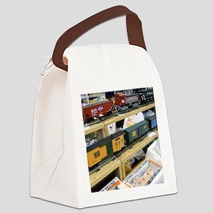 Adding Trains Canvas Lunch Bag