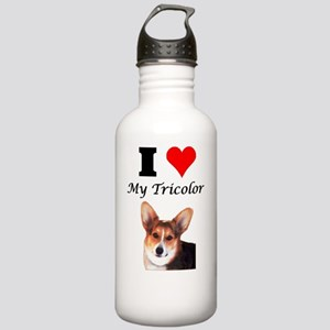 I Love my Tricolor Cor Stainless Water Bottle 1.0L