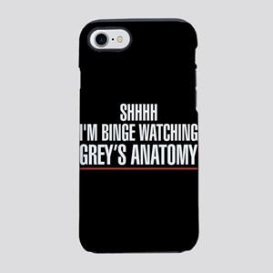 Grey's Anatomy Binge Watching iPhone 7 Tough Case
