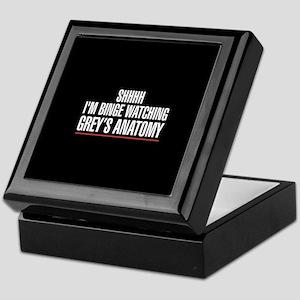 Grey's Anatomy Binge Watching Keepsake Box