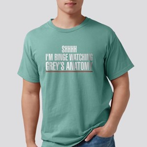 Grey's Anatomy Binge Wat Mens Comfort Colors Shirt