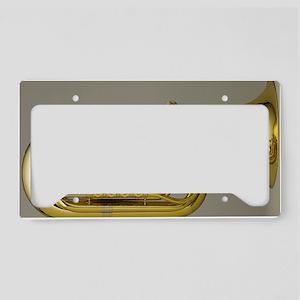 tuba-5 License Plate Holder