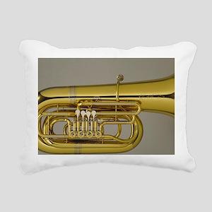 tuba-5 Rectangular Canvas Pillow