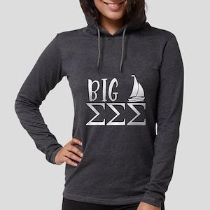 Sigma Sigma Sigma Big Womens Hooded Shirt