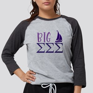 Sigma Sigma Sigma Big Womens Baseball Tee