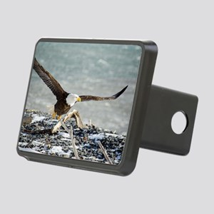 Magnificent Bald Eagle Rectangular Hitch Cover