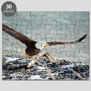 Magnificent Bald Eagle Puzzle