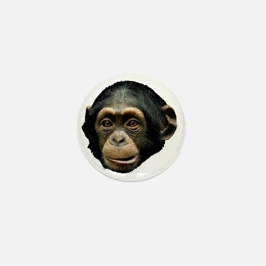Chimpanzee Mini Button