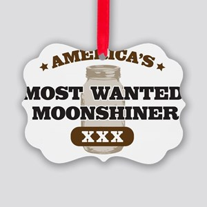 Most Wanted Moonshiner Picture Ornament