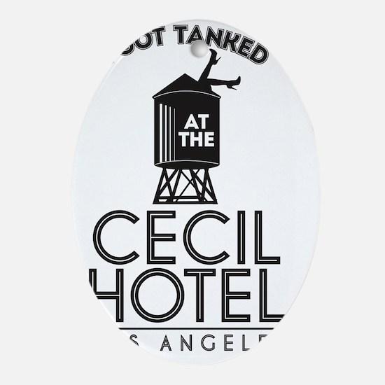 Cecil Hotel Oval Ornament