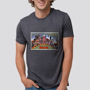 Saginaw Michigan Greetings (Front) T-Shirt