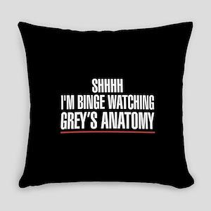 Grey's Anatomy Binge Watching Everyday Pillow
