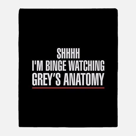 Grey's Anatomy Shhh I'm Binge Watching Grey's