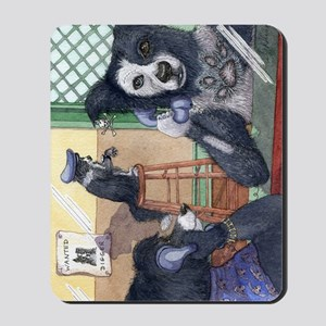 Bad dog! Border Collies in jail Mousepad