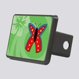Butterfly Travel Valet Rectangular Hitch Cover