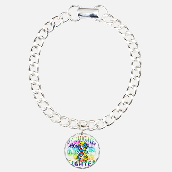 My Daughter Is A Fighter Bracelet