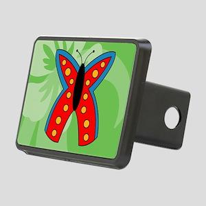 Butterfly Rectangular Cock Rectangular Hitch Cover