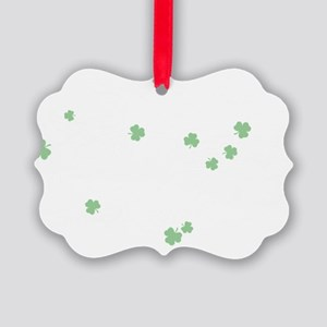Irish Colleen Picture Ornament
