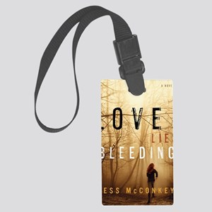 Love Lies Bleeding Cover Large Luggage Tag