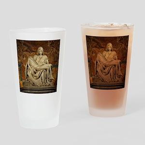Michelangelos Pieta Drinking Glass