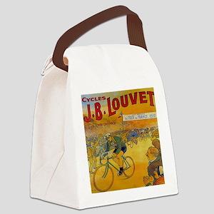 Vintage Tour de France Poster Canvas Lunch Bag