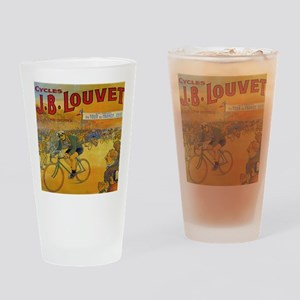 Vintage Tour de France Poster Drinking Glass