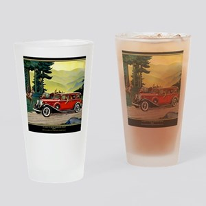 9 SEPT LA SALLE V-8 Drinking Glass