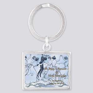 1 A GIBSON 6 AM COVER Landscape Keychain