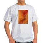 Willow Grass on Orange Light T-Shirt