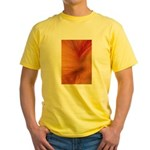 Willow Grass on Orange Yellow T-Shirt