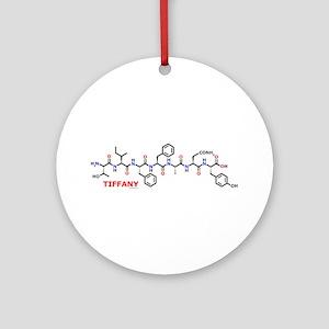 Tiffany molecularshirts.com Ornament (Round)