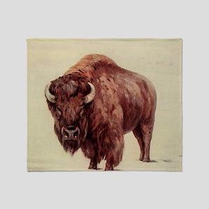 Buffalo Throw Blanket