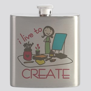 Live To Create Flask