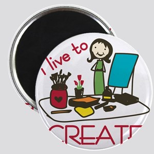 Live To Create Magnet