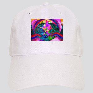 Colorful Abstract Cap