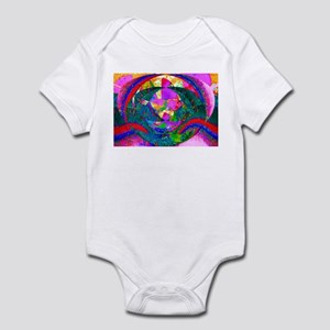 Colorful Abstract Infant Bodysuit