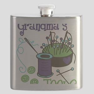 Grandma's Tools Flask