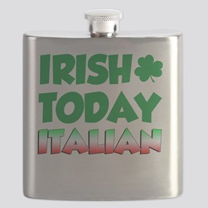 Irish Today Italian Tomorrow Flask