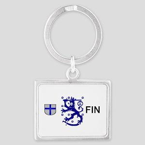 Finland  Landscape Keychain