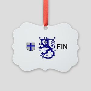 Finland  Picture Ornament