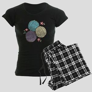 Yarn Trio Women's Dark Pajamas