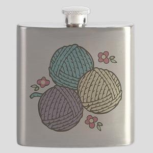 Yarn Trio Flask