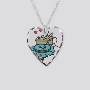Love to Craft Necklace Heart Charm