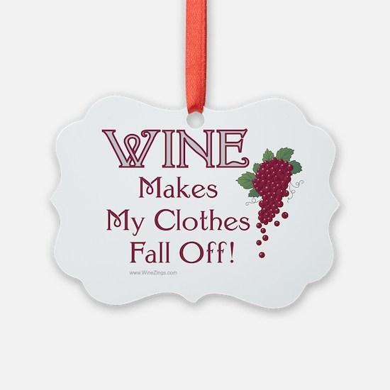 Wine Clothes Ornament