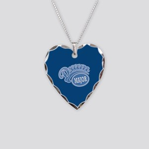Drum Major Necklace Heart Charm