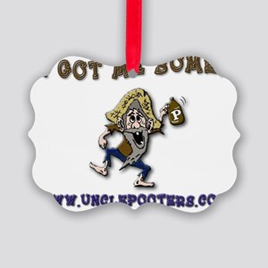 Uncle Pooters Headlight Sauce Picture Ornament
