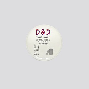 D & D trash Mini Button