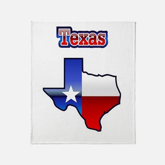 Texas05 Throw Blanket