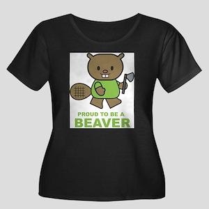 beaver3 Plus Size T-Shirt