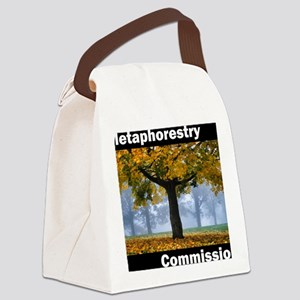 Metaphorestry Commission Square Canvas Lunch Bag